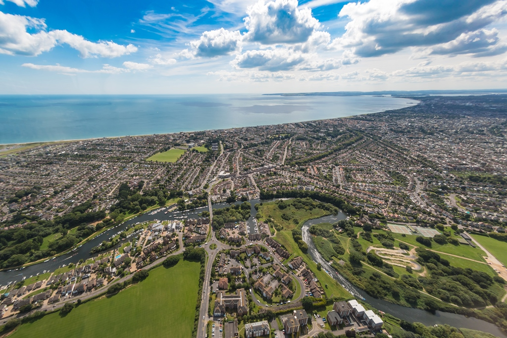 Bournemouth aerial image