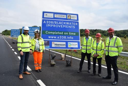 A338/Blackwater Junction Reopens