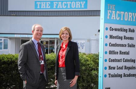 Partnership boost for The Factory social enterprise hub