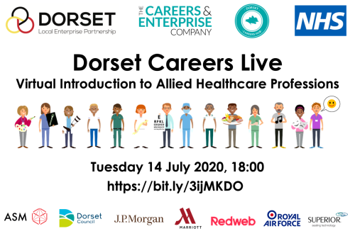 Dorset Careers Live - An Introduction to Allied Healthcare Professions