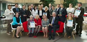 Schools and businesses commended for employability support