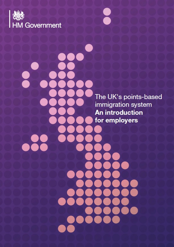 Points Based Immigration System - Introduction for Employers
