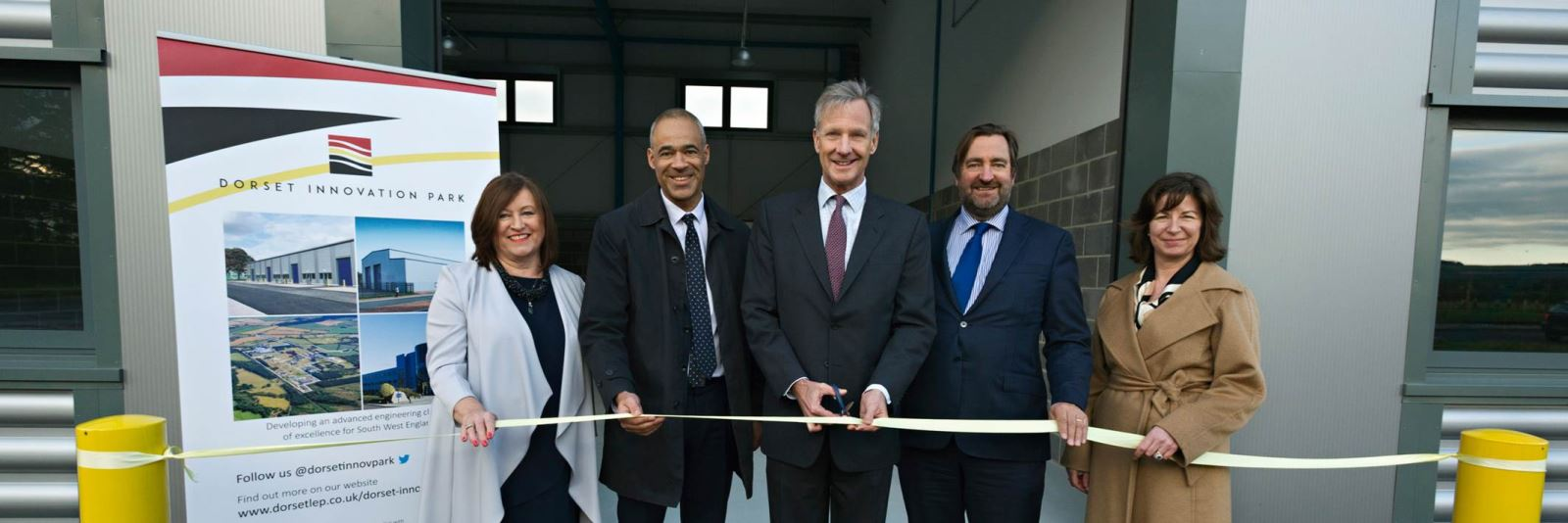 Dorset Innovation Park opens