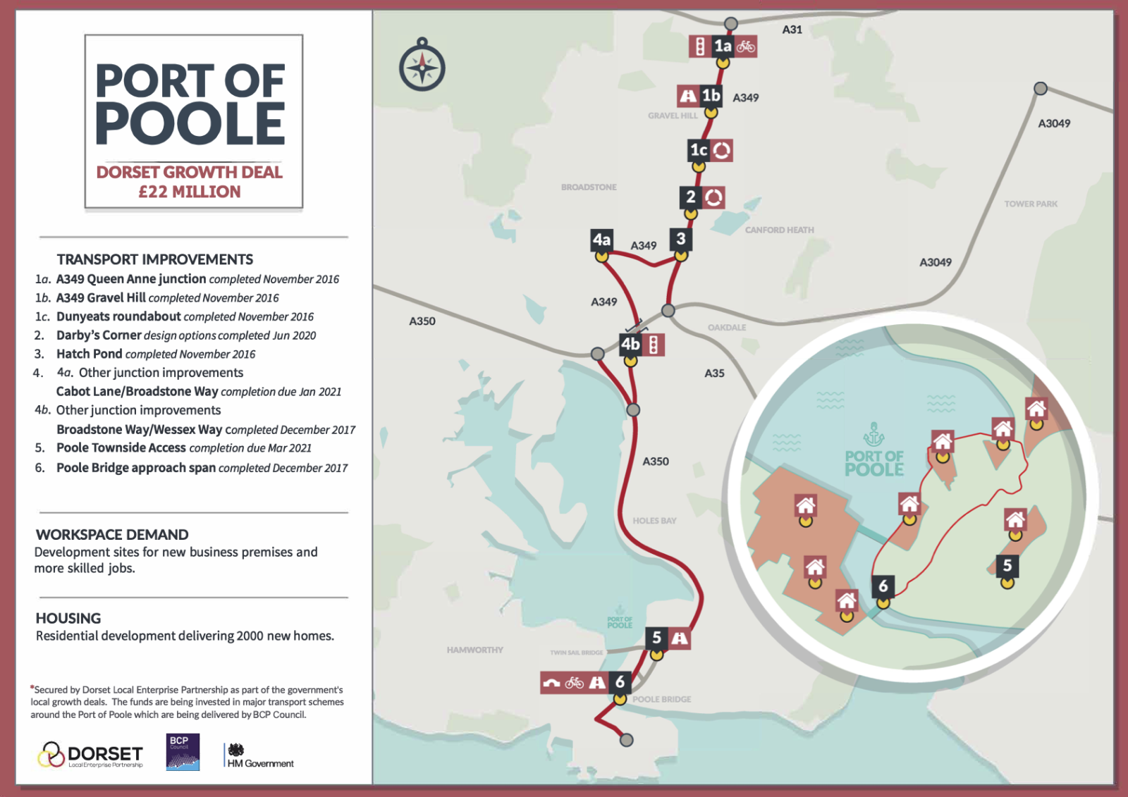 Port of Poole Map
