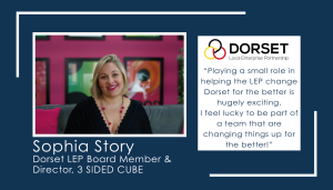 Q&A with Dorset LEP Board member, Sophia Story